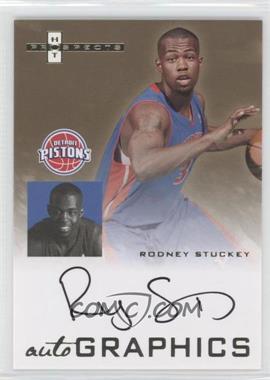 2007-08 Fleer Hot Prospects - Autographics #AU-RS - Rodney Stuckey