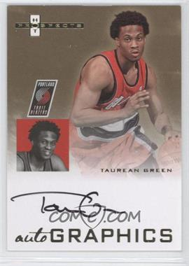 2007-08 Fleer Hot Prospects - Autographics #AU-TG - Taurean Green