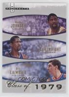 Magic Johnson, Bill Cartwright, Bill Laimbeer #/1,979