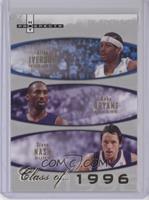Allen Iverson, Kobe Bryant, Steve Nash /1996