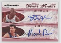 Jarrett Jack, Mark Price /10