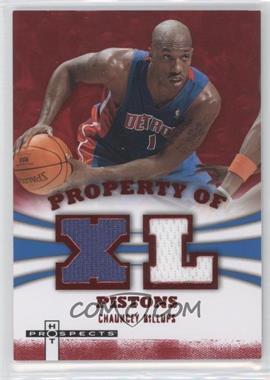 2007-08 Fleer Hot Prospects - Property Of Materials - Red #PO-CB - Chauncey Billups /25