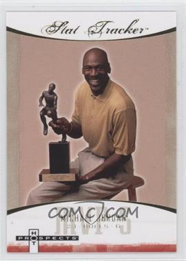 2007-08 Fleer Hot Prospects - Stat Tracker #ST-27 - Michael Jordan