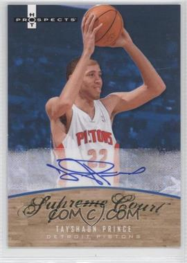 2007-08 Fleer Hot Prospects - Supreme Court - Autographs #SC-PR - Tayshaun Prince /25
