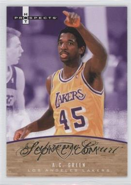 2007-08 Fleer Hot Prospects - Supreme Court #SC-12 - A.C. Green