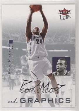 2007-08 Fleer Ultra - Autographics #AU-PM - Paul Millsap