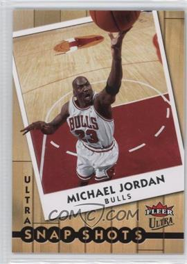 2007-08 Fleer Ultra - Snap Shots #SS-7 - Michael Jordan