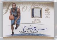 Rookie Authentics Autograph Patch - Chris Richard #/399