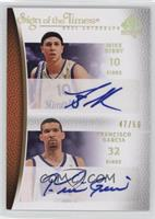 Mike Bibby, Francisco Garcia /50