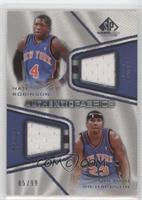 Nate Robinson, Quentin Richardson #/99