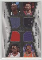 Kevin Garnett, Vince Carter, Tracy McGrady, Shawn Marion /25