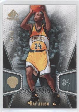 2007-08 SP Game Used - [Base] - Gold #88 - Ray Allen /25