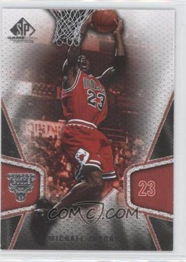 2007-08 SP Game Used - [Base] #10 - Michael Jordan