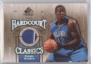 2007-08 SP Game Used - Hardcourt Classics - Patch #HC-DH - Dwight Howard /50