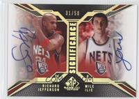 Richard Jefferson, Mile Ilic /50