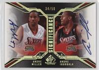 Andre Miller, Andre Iguodala [Noted] #/50