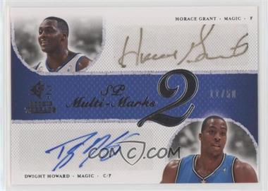 2007-08 SP Rookie Threads - Multi-Marks - 2 [Autographed] #MD-HD - Horace Grant, Dwight Howard /50