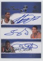 Antawn Jamison, Sean May, David Noel /25