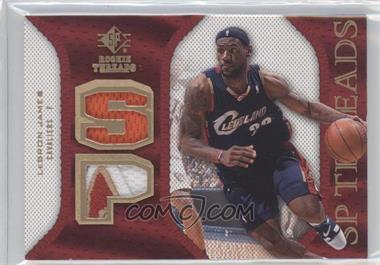 2007-08 SP Rookie Threads - SP Threads - Patch #SP-JA - Lebron James