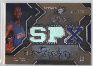 2007-08 SPx - [Base] #140 - Rodney Stuckey /825