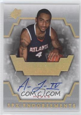 2007-08 SPx - Endorsements - [Autographed] #E-AL - Acie Law