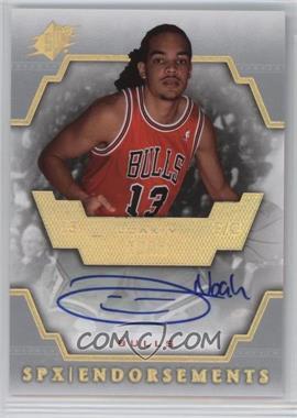 2007-08 SPx - Endorsements - [Autographed] #E-JN - Joakim Noah