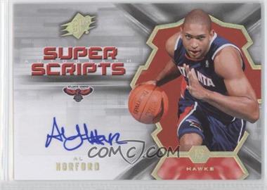 2007-08 SPx - Super Scripts Autograph - [Autographed] #SS-AH - Al Horford