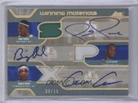 Paul Pierce, Gerald Green, Al Jefferson /15