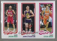 Jason Kidd, John Stockton, Steve Nash /99