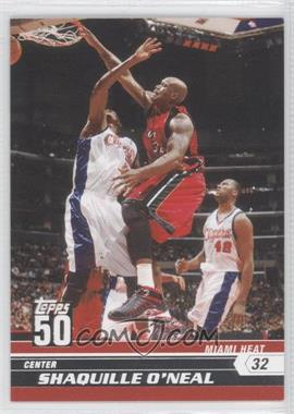 2007-08 Topps - 50 #14 - Shaquille O'Neal