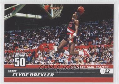 2007-08 Topps - 50 #9 - Clyde Drexler