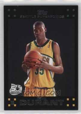 2007-08 Topps - [Base] #112 - Kevin Durant