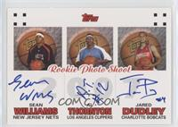 Sean Williams, Al Thornton, Jared Dudley