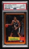 Tim Duncan [PSA 10 GEM MT] #/199