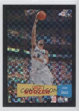 2007-08 Topps Chrome - [Base] - 1957-58 Variations X-Fractor #64 - Carlos Boozer /50
