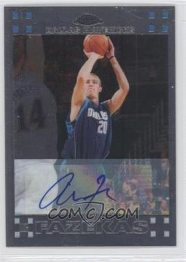 2007-08 Topps Chrome - [Base] - Rookie Certified Autograph [Autographed] #134 - Nick Fazekas /999