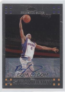 2007-08 Topps Chrome - [Base] - Rookie Certified Autograph [Autographed] #142 - D.J. Strawberry /999