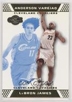 LeBron James, Anderson Varejao #/89