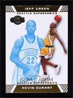 Kevin Durant, Jeff Green #/89