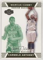 Carmelo Anthony, Marcus Camby #/59