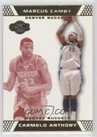 Carmelo Anthony, Marcus Camby #/109