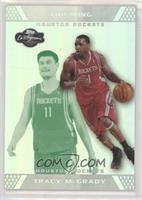 Tracy McGrady, Yao Ming [EX to NM] #/19