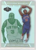 Wilson Chandler, Stephon Marbury #/19