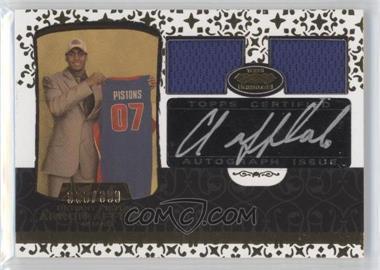2007-08 Topps Echelon - Rookie Autographs - Dual Relics [Autographed] #59 - Arron Afflalo /399
