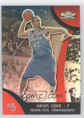 2007-08 Topps Finest - [Base] - Refractor #105 - Kevin Love