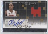 Chauncey Billups #/15
