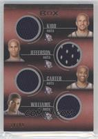 Jason Kidd, Richard Jefferson, Vince Carter, Sean Williams /99