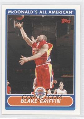 2007-08 Topps McDonald's All American - [Base] #BG - Blake Griffin