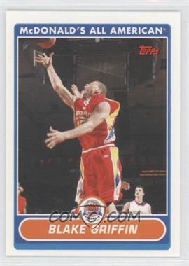 2007-08 Topps McDonald's All American - [Base] #BG - Blake Griffin