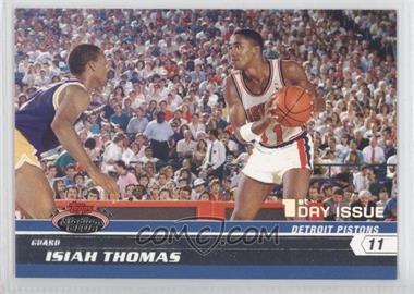2007-08 Topps Stadium Club - [Base] - 1st Day Issue #92 - Isiah Thomas /1999